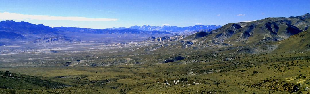 Iron Mountain, looking southwest
